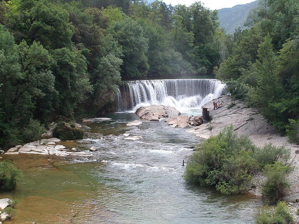 La Vis - Rivière - Camping Hérault