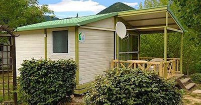 Mobilhome chalet camping Soubes
