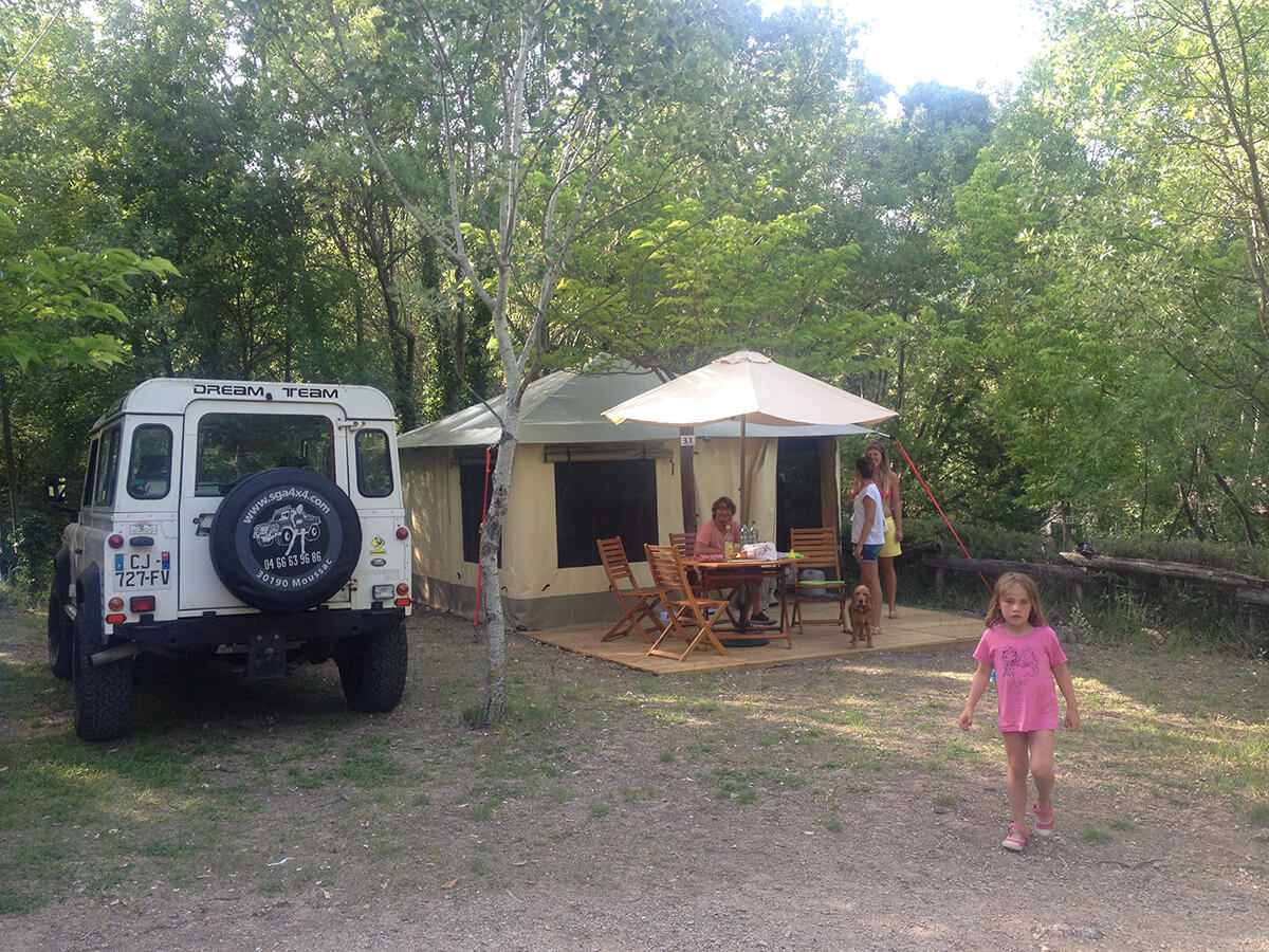 camping des sources bungalow toilé