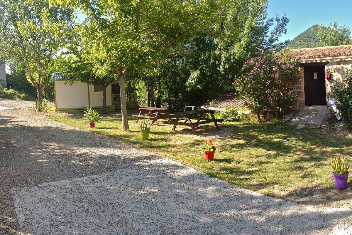 Camping des Sources à Soubès